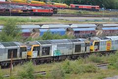 Toton (lcfcian1) Tags: toton railways trains depot ews db totondepot nottinghamshire train tracks rails diesels railyard class60 60