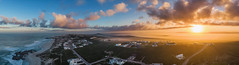 Yzerfontein Panorama on a dramatic sunrise morning - Christine Phillips (Christine's Phillips (Christine's observations) - ) Tags: green yzerfontein south africa christine phillips west coast namaqualand panorama no people horizontal