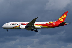 B-206R Hainan Airlines Boeing 787-9 Dreamliner at Edinburgh Turnhouse Airport on 21 July 2019 (Zone 49 Photography) Tags: aircraft airliner aeroplane july 2019 egph edi edinburgh scotland turnhouse hu chh hainan airlines boeing 787 789 boeing7879 dreamliner b206r