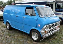Ford E-100 (Schwanzus_Longus) Tags: street mag show hannover german germany us usa america american old classic vintage vehicle panle delivery cargo van ford e100 e 100 econoline