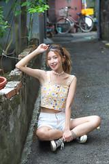 IMG_3174L (攝影玩家-明晏) Tags: 人 人像 戶外 outdoor 美女 辣妹 modle 外拍 李岱倫 taiwan portrait girl woman 正妹 小清新 smile