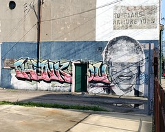 Thank You, Nelson Mandela (Neil Noland) Tags: streetart graffiti cincinnati ohio