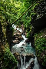 Keep Going (NickLesta) Tags: slovenia river gorge canyon tolmin nature waterfall rock green wild long exposure cascade beautiful nikon
