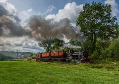 Foxfield Railway 21-7-2019 (KS Railway Gallery) Tags: foxfield railway summer gala uk steam freight trains beyer peacock