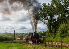 Foxfield Railway 21-7-2019 (KS Railway Gallery) Tags: foxfield railway summer gala uk steam freight trains austerity carron