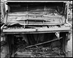Piano (Philippe Torterotot) Tags: chamonix45n2 fomapan100 foma film filmisnotdead nofilter noirblanc blackandwhite analog bw france grandformat ishotfilm loireatlantique largeformat largeformatcamera monochrome nantes nb paysdelaloire musique rodinal urbex urbain v700 ville 4x5