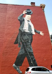 Keep on Walkin' (Neil Noland) Tags: streetart graffiti cincinnati ohio