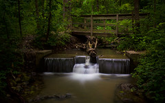 After the Rain (KC Mike Day) Tags: parkville nature sanctuary hiking waterfall exposure long canon 1635 nd filter 10 stop missouri