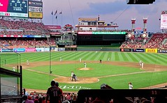Cincinnati Reds (Neil Noland) Tags: baseball stadium greatamericaballpark cincinnatireds cincinnati ohio mlb