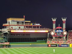 Riverboat Red (Neil Noland) Tags: baseball stadium greatamericaballpark cincinnatireds cincinnati ohio mlb