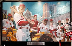 Big Red Machine (Neil Noland) Tags: baseball stadium greatamericaballpark cincinnatireds cincinnati ohio mlb