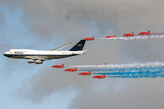 BOAC G-BYGC 20-7-2019 (Enda Burke) Tags: riat riat2019 royalinternationalairtatoo boac boeing boeing747400 avgeek 747 747400 redarrows raf royal air force airshow egva aviation aircraft travel canon canon7dmark2 runway plane planes arrival departure flight flying pilot ffd airplane airport canon7dmk2 cockpit britishairways flypast