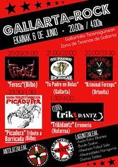 2015 C .- GALLARTA ROCK  JAIAK 06-06-2015 FEROSZ+TU PADRE+ EN BOLAS+CRIMINAL FORCEPS-GALLARTA-