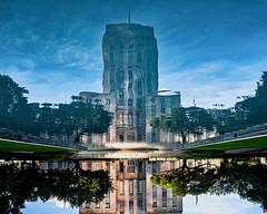 30:52 Reflecting on City Hall (Woodlands Photog) Tags: reflections reflection houston city hall architecture texas