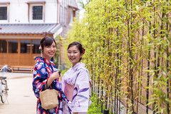 Portrait of young women in yukata in traditional Japanese town (Apricot Cafe) Tags: img130314 asia asianandindianethnicities japan japaneseethnicity japaneseculture kimono millennialgeneration sawarakatori bamboo buildingexterior carefree chibaprefecture copyspace cultures day friendship happiness leisureactivity lifestyles lookingatcamera nature outdoors people photography portrait realpeople sightseeing smiling student summer togetherness toothysmile tourism tourist traditionalclothing travel traveldestinations twopeople unescoworldheritagesite waistup women youngadult youngwomenonly youthculture yukata
