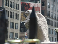 2019 American Bald Eagle Statue - Madison Square Garden 6298 (Brechtbug) Tags: statue eagle bald american 2019 from new york old city nyc sculpture bird station stone garden square store pennsylvania near down books location madison penn torn former avenue 7th borders 1963 originally 07212019