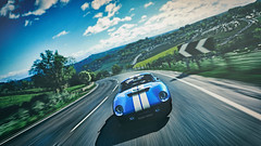 Good Day Out (Mr. Pebb) Tags: northamerican american v8 rwd frontengined frontengine twoseater twodoor 2door 2seater car classic shelbydaytonacoupe shelby daytonacoupe racinggame racegame 4k 4kgaming 3840x2160 169 landscapeformat landscapemode xboxone xboxonex xbox ms microsoft turn10studios t10 turn10 videogame videogamecapture screencapture screenshot imagecapture photomode forza forzaseries forzahorizon4 fh4 forzahorizon playgroundgames pg microsoftstudios microsoftgamestudios firstpartygame firstpartytitle 1stpartygame 1stpartytitle colour edited front color colourshot colorshot colourimage colorimage colorpicture colourpicture blue scenery trees tree hill cloud clouds day