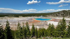 The Grand Prismatic Spring! (peddhapati) Tags: bhaskar peddhapati photography nature travel scenic holiday vacation beautiful volcanic national park landscape famous wyoming usa yellowstone grand prismatic 2019 summer hot spring geysers nikon d90 dslr