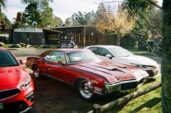 1968 Buick Riviera GS (Matthew Paul Argall) Tags: kodakflashsingleusecamera 35mmfilm singleusecamera disposablecamera 800isofilm kodak800 fixedfocus car vehicle automobile transportation classiccar buickriviera