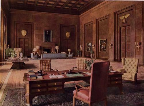 A look at Hitler's office. http://www.newslinq.com/wp-content/uploads/2015/01/coolpic15.jpg