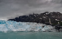 meeting of the elements (Pejasar) Tags: ice glacier dirt clouds air elements collision alaska inlandpassage
