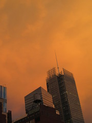 2019 Sunset Clouds After a 92 Degree Sunday 6411 (Brechtbug) Tags: 2019 sunset clouds after 92 degree sunday hells kitchen clinton near times square broadway nyc 07212019 new york city midtown manhattan snowing storms snowstorm winter weather building fog like foggy july summer hell s nemo southern view