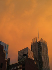 2019 Sunset Clouds After a 92 Degree Sunday 6410 (Brechtbug) Tags: 2019 sunset clouds after 92 degree sunday hells kitchen clinton near times square broadway nyc 07212019 new york city midtown manhattan snowing storms snowstorm winter weather building fog like foggy july summer hell s nemo southern view