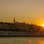 Sunset over Budapest thumbnail