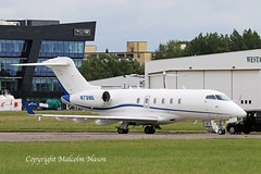 CHALLENGER 300 N739E EATON LEASING CORP (shanairpic) Tags: bizjet corporatejet executivejet shannon cl300 challenger300 bombardier n739e