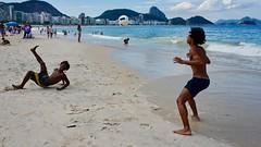 Happy friends (alobos life) Tags: happy players child ball copacabana nice beautiful cute brazilians boys garoto rio de janeiro brasil brazil beach playa mar sea