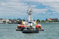 Tugboat Stern (Eric Kilby) Tags: bostonharbor ship boat water boston denali neworleans tug tugboat