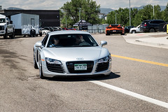 V8 (Hunter J. G. Frim Photography) Tags: supercar colorado audi r8 v8 v10 awd blue black white spyder convertible coupe german audir8 audir8v10 audir8v10spyder