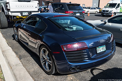Nice Color (Hunter J. G. Frim Photography) Tags: supercar colorado audi r8 v8 v10 awd blue black white spyder convertible coupe german audir8 audir8v10 audir8v10spyder