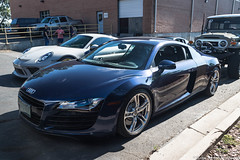 R8 (Hunter J. G. Frim Photography) Tags: supercar colorado audi r8 v8 v10 awd blue black white spyder convertible coupe german audir8 audir8v10 audir8v10spyder