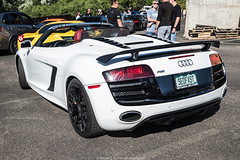 SEOFAST (Hunter J. G. Frim Photography) Tags: supercar colorado audi r8 v8 v10 awd blue black white spyder convertible coupe german audir8 audir8v10 audir8v10spyder