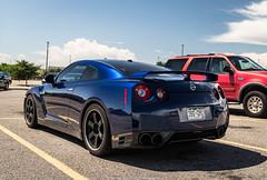 GTR (Hunter J. G. Frim Photography) Tags: supercar colorado nissan gtr r35 skyline gray blue red v6 japanese turbo wing awd nissangtr