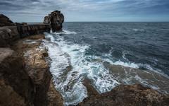 White Water (RTA Photography) Tags: portlandbill pulpitrock sea rocks seascape sky outdoors nature rtaphotography horizon waves water theenglishchannel nikon d750 nikkor 1835 18mm cloud