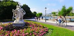 Buen tiempo en Donostia. Paseo de Francia. (eitb.eus) Tags: eitbcom 32961 g152178 tiemponaturaleza tiempon2019 paisajes gipuzkoa donostiasansebastian jonhernandezutrera