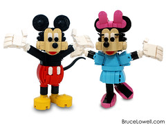 LEGO Minnie and Mickey Mouse