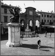 Alle piazze di Rimini_Rolleiflex 3.5B (ksadjina) Tags: 6x6 fujiacros100 italia marcheedabruzzo2019 nikonsupercoolscan9000ed rimini rodinal rolleiflex35b silverfast analog estate film scan