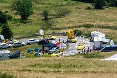 Tour de France en Ariège (PierreG_09) Tags: ariège pyrénées pirineos occitanie midipyrénées portdelers tourdefrance col caravane sport cyclisme montagne