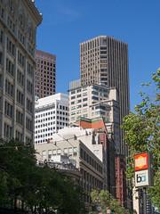 San Francisco Downtown (2) (Teelicht) Tags: california hochhaus innenstadt kalifornien nordamerika northamerica sanfrancisco usa unitedstatesofamerica vereinigtestaaten centralbusinessdistrict downtown skyscraper