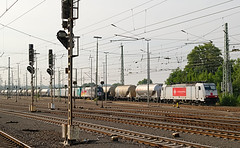 Crossrail 186 150 - Aachen West (rvdbreevaart) Tags: crossrail aachen bombardier traxx br186 trein eisenbahn railway ferrovie raw rawtherapee