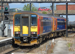 153310 153321 120719 (stevenjeremy25) Tags: railway train passenger emt east midlands trains 153310 153321 nottingham dmu railcar 2s25