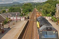 Timber Train (42jph) Tags: nikon d7200 uk england settle yorkshire dales railway station train locomotive hopper