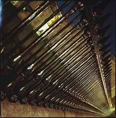 diagonal alley (steve-jack) Tags: hasselblad 501cm 50mm cfi lomography colour 800 film 120 medium format tetenal c41 kit epson v500