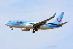 OO-JAR Boeing 737-7K5 TUIFly (LIL/LFQQ) (geoffrey.zdcki) Tags: lil lfqq boeing 737 spotting spotter aviation nikon lilleairport lille tui tuifly 7377k5 737700 belgium oojar