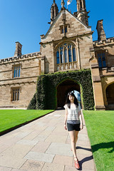 500px Photo ID: 205927639 (DaDa 1127) Tags: sydney australia usyd portrait landmark girl architecture architectural beauty amazing garden park harrypotter cute smile smiling university landscape landscapes grass snap colorful color colorimage happy hair summer 雪梨大學 雪梨