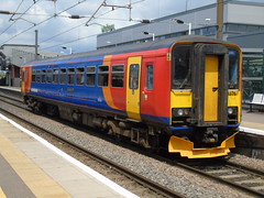 153376 120719 (stevenjeremy25) Tags: peterborough railway train emt east midlands trains 153376 x24 expeditious dmu railcar