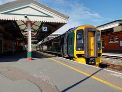 158766 Paignton (5) (Marky7890) Tags: gwr 158766 class158 expresssprinter paignton railway devon rivieraline train